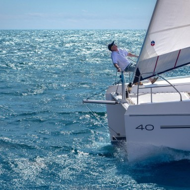 Ullman Sails Powered Leopard 40