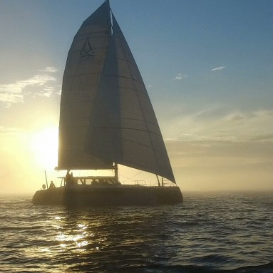 Balance 526, 'Ondine', featuring FiberPath Voyager Series sails from Ullman Sails