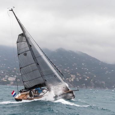 Saffier using Ullman Sails Voyager Series Sails