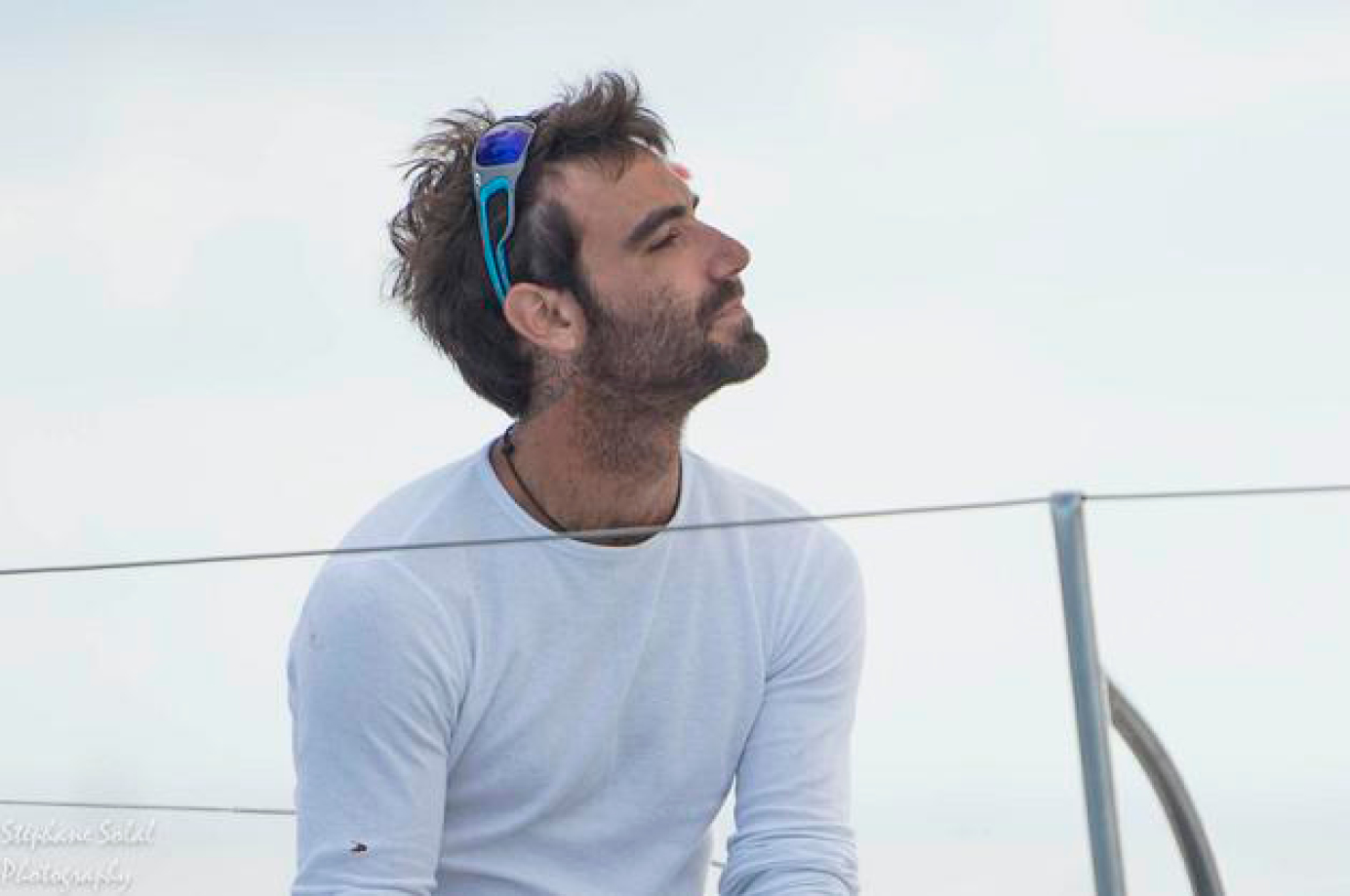 Alan Roura - competitor of the Transat Jacques Vabre
