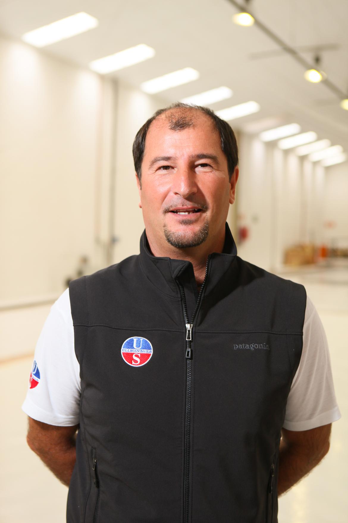 Francesco De Vita of Ullman Sails South Africa